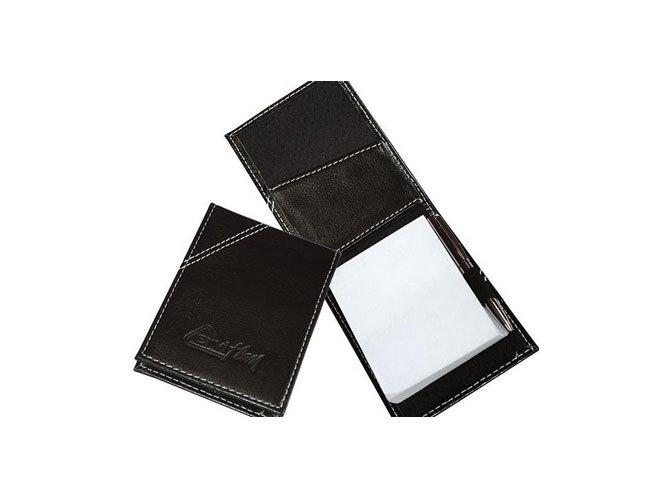 Bloco de anotações em couro personalizado - fs02