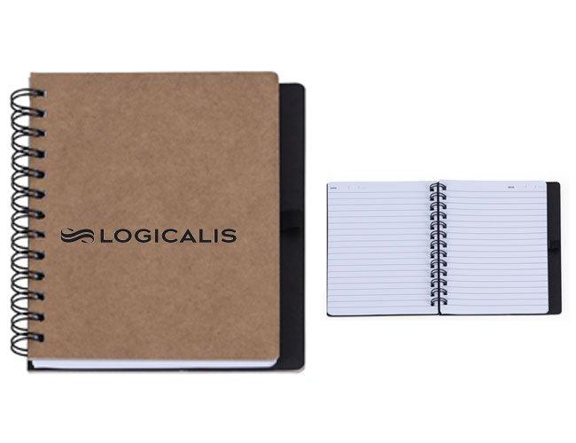 Caderno promocional personalizado