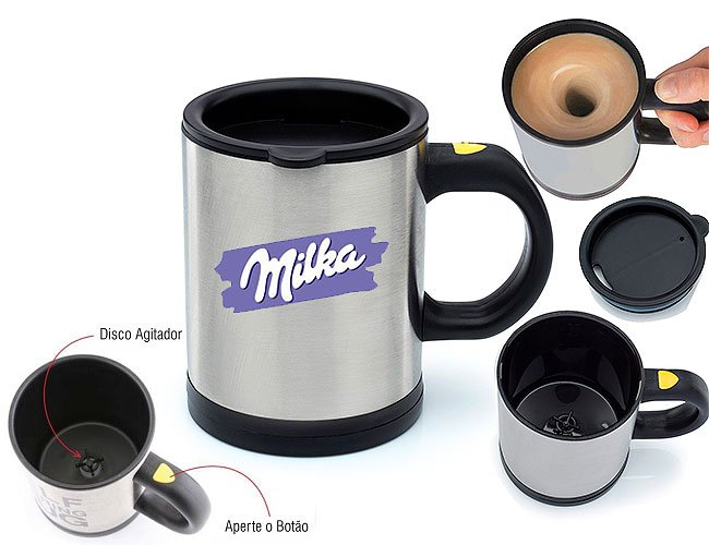 Caneca Mixer coffe magic personalizada - ccm01