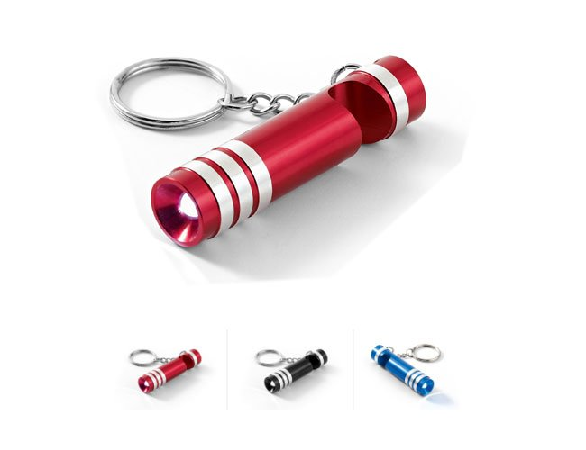 Lanterna com chaveiro em metal personalizado - spt9315