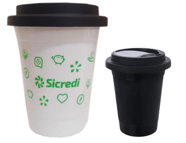 Copo de café 400 ml para viajem modelo Starbucks promocional personalizado