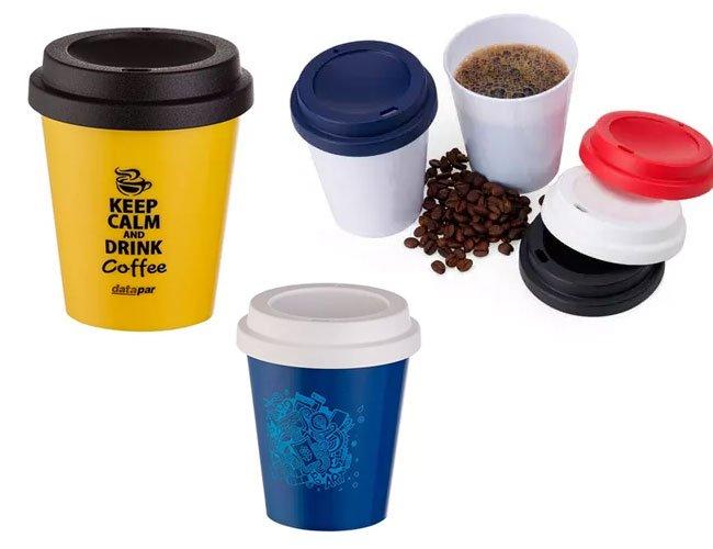 Copo de café 350 ml para viajem modelo Starbucks promocional personalizado  - ca42