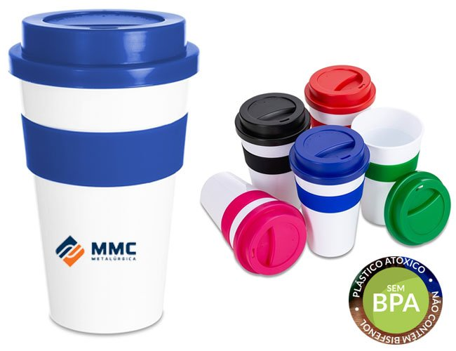 Copo de café 480 ml para viajem modelo Starbucks promocional personalizado