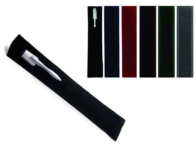 Embalagem de veludo para canetas personalizadas - vl01