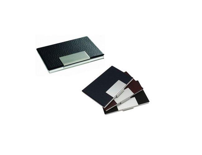Porta Cartão Em Couro Personalizado- ES24