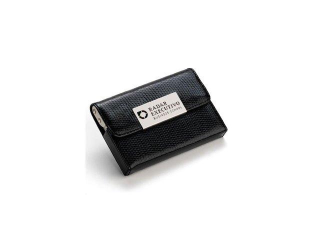 Porta Cartão Em Couro Personalizado- ES26