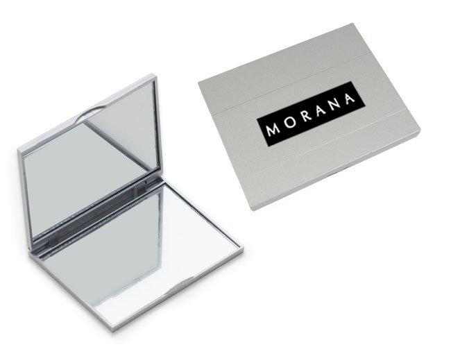 Espelho de bolso retangular Personalizado