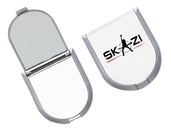 Espelho de bolso promocional personalizado - f24