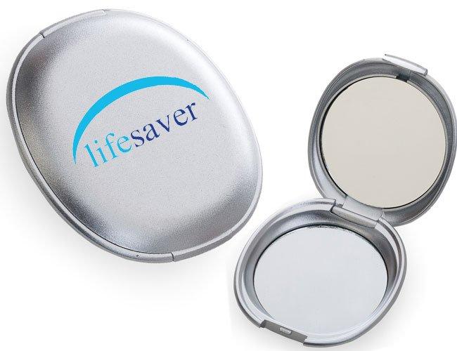 espelho de bolso promocional personalizado - f28