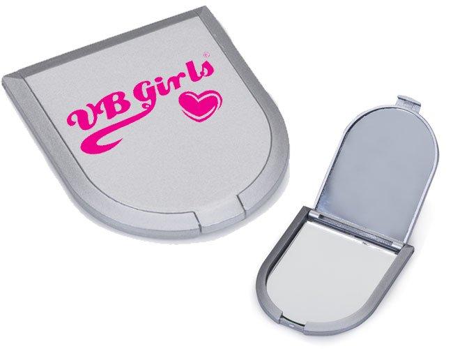 Espelho de bolso promocional personalizado - f62