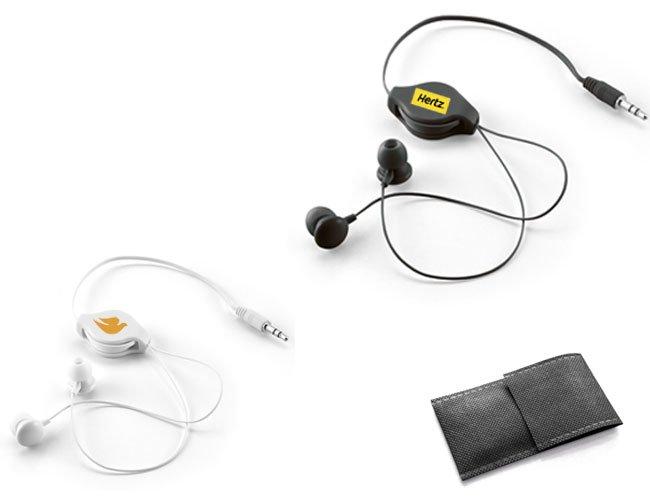 Fone de ouvido retrátil personalizado promocional - spt97309