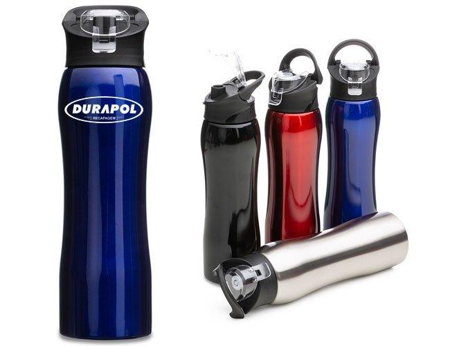 Garrafa / Squeeze 750 ml Inox Personalizado