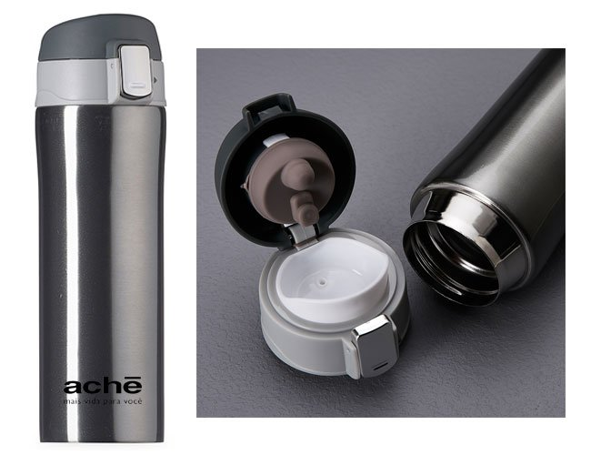 garrafa térmica promocional personalizada para eventos