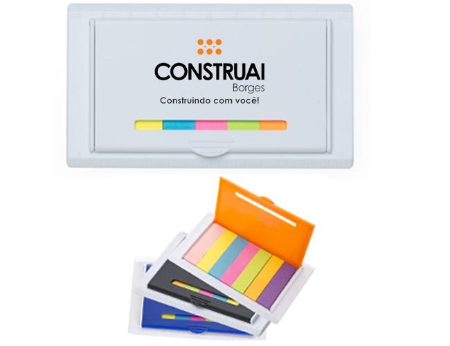 Kit autoadesivo post-it personalizado