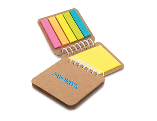 Kit autoadesivo post-it promocional personalizado