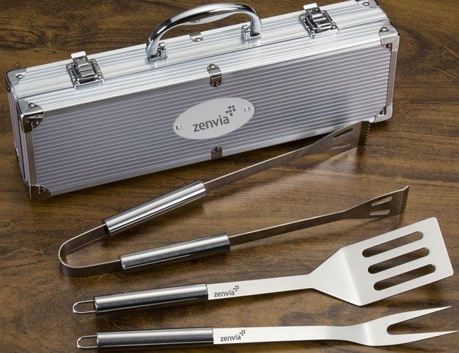 Kit-churrasco promocional personalizado para eventos