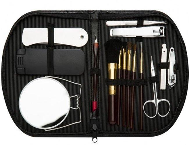 Kit manicure 15 peças promocional personalizado-F10
