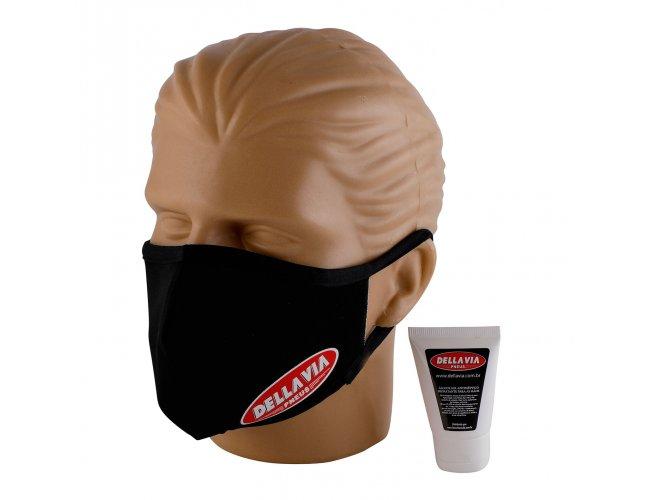 Kit Máscara de Proteção e Álcool em Gel Personalizado