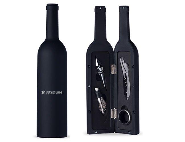Kit-Vinho promocional personalizado para eventos