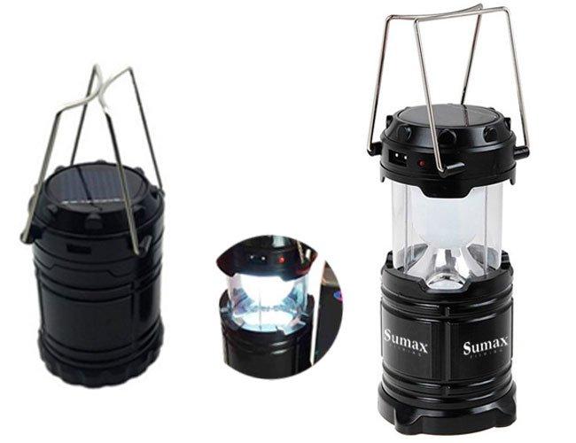 Lanterna luminária recarregável personalizada - lnt23