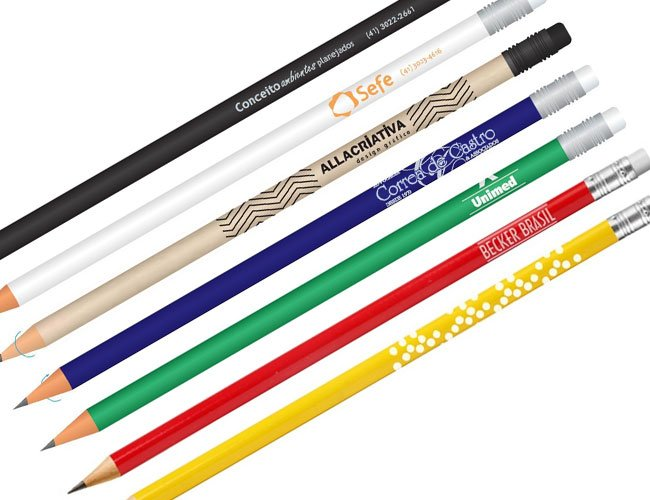 Lápis personalizado ecológico promocional  - 01