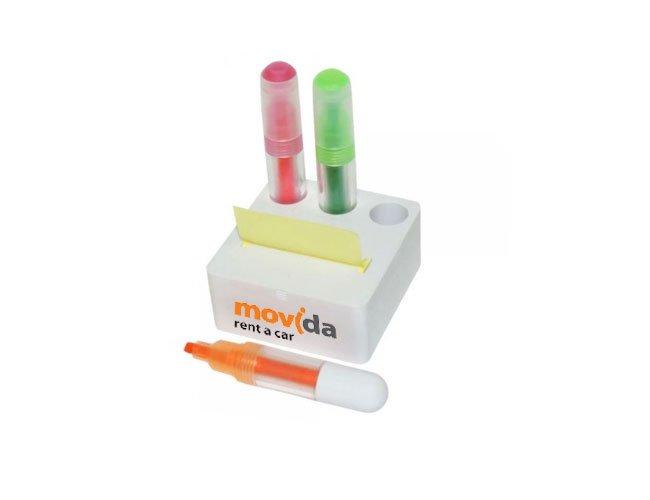 Kit caneta marca texto personalizado com port-it - mt37