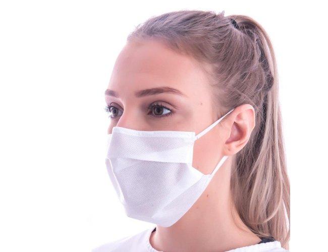 Máscara Descartável TNT SMMMS com Clipe Nasal (5 camadas de proteção)