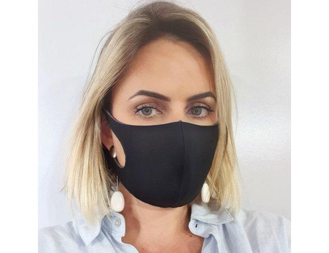 Máscara Neoprene Anatômica Reutilizável-mpf08