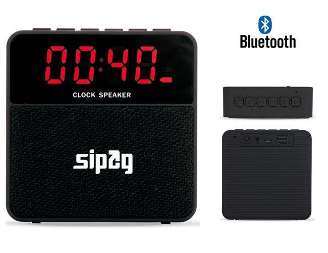 Mini caixa de som com bluetooth promocional personalizada para eventos