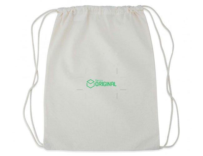 Mochila saco promocional personalizada para eventos