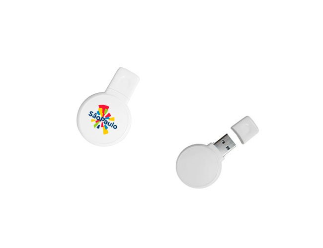 Pen Drive Plástico Personalizado - pn10