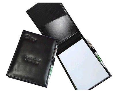 Porta Bloco de anotações em couro Personalizado - pbl143