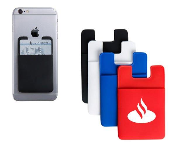 Porta cartão  para celular promocional personalizado - gh15