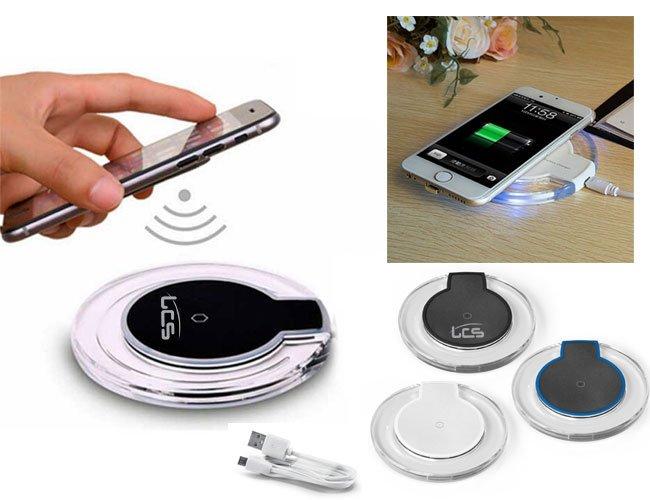 Carregador de celular wireless sem fio promocional personalizado - pw36