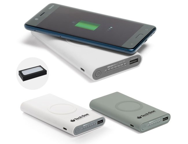 Power Bank Wireless Carregador de celular promocional personalizado - pw34
