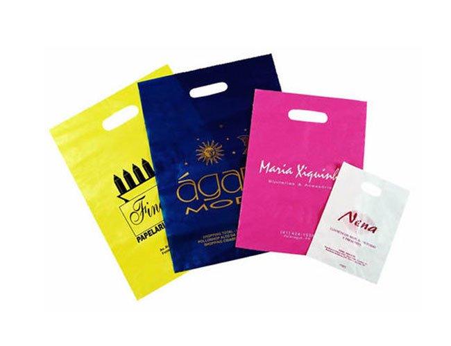 Sacola Plastica Promocional Personalizada -sc50