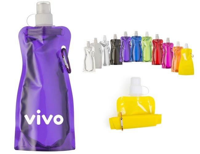 Squeeze Dobravel Plastico Promocional Personalizado