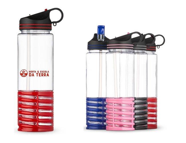 Squeeze promocional personalizado para eventosGarrafa Squeeze Plástico Personalizado Promocional para Brindes